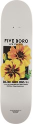 5boro Flower Seed 8.25 Skateboard Deck - yellow