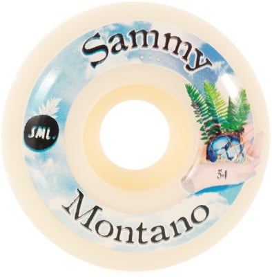 Sml. Montano Tide Pool OG Wide Skateboard Wheels - white (99a) - view large