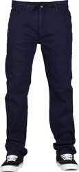 Footprint Baggy Fit 5 Pocket Chino Pants - navy