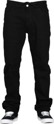 Footprint Relaxed Fit 5 Pocket Chino Pants - black