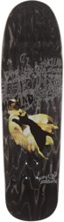 Fancy Lad Cats Feeding 9.0 Skateboard Deck - black