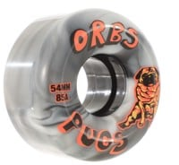Orbs Pugs Skateboard Wheels - black/white swirl (85a)