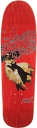 Fancy Lad Roller Cats 8.75 Skateboard Deck - red