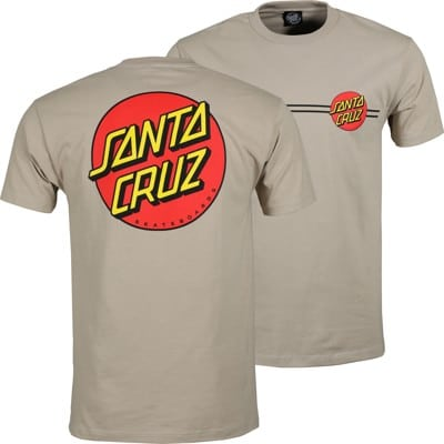 Santa Cruz Classic Dot T-Shirt - sand - view large
