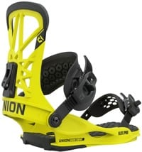 Union Flite Pro Snowboard Bindings 2021 - hazard yellow