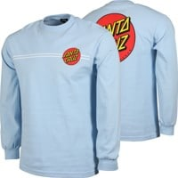 Santa Cruz Classic Dot L/S T-Shirt - powder blue