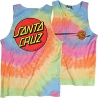 Santa Cruz Classic Dot Tank - eternity