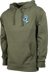 Santa Cruz Screaming Mini Hand Hoodie - army