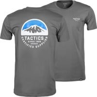 Tactics Bachelor T-Shirt - charcoal