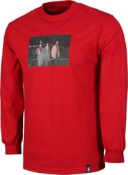 Girl Beastie Boys Spike Jonze L/S T-Shirt - cardinal