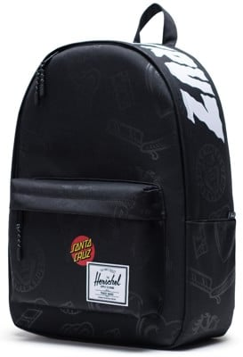 Herschel Supply Santa Cruz Classic X-Large Backpack - black speed wheels - view large