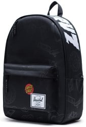 Herschel Supply Santa Cruz Classic X-Large Backpack - black speed wheels