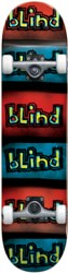 Blind Reflective 7.25 Complete Skateboard - red/black/blue
