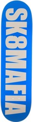 SK8MAFIA OG Logo 8.5 Skateboard Deck - highlight blue