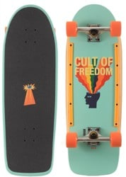 Globe Burner 10.0 Complete Skateboard - cult of freedom/explode