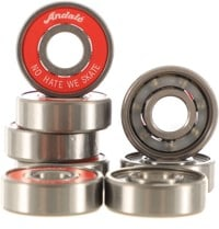 Andale No Hate We Skate Skateboard Bearings - red