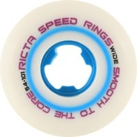Ricta Speedrings Wide Skateboard Wheels - white/blue (101a)