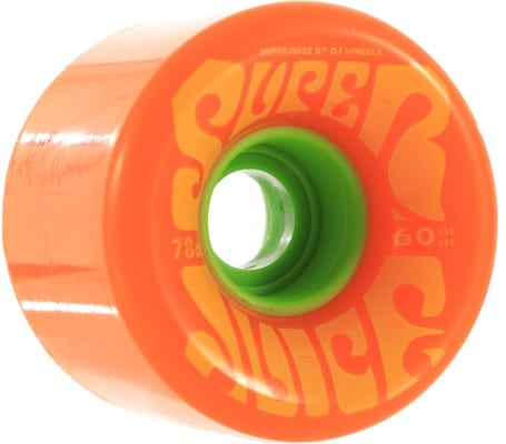 OJ Super Juice Cruiser Skateboard Wheels - citrus (78a) - view large