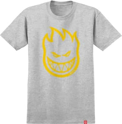 Spitfire Kids Bighead T-Shirt - athletic heather/yellow - view large
