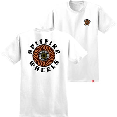 Spitfire Kids OG Classic Fill T-Shirt - white/yellow/orange/red - view large