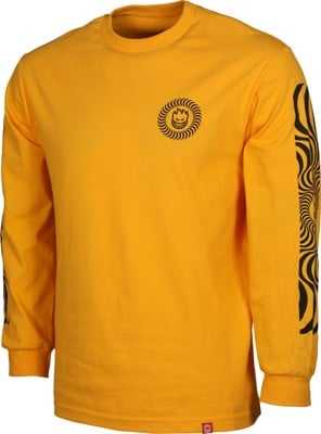 Spitfire Classic Swirl Sleeve L/S T-Shirt - yellow/black - view large
