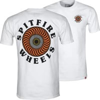 Spitfire OG Classic Fill T-Shirt - white/yellow/orange/red