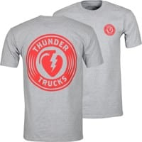 Thunder Charged Grenade T-Shirt - ash heather/red