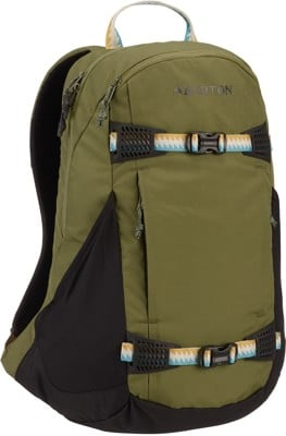 Burton Day Hiker 25L Backpack - martini olive flight satin - view large
