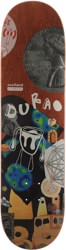 Numbers Edition Durao Edition Seven 8.38 Skateboard Deck - red