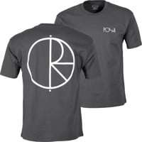Polar Skate Co. Stroke Logo T-Shirt - graphite/white