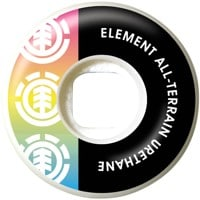 Element Section Skateboard Wheels - rainbow (99a)