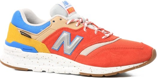New Balance 997H Shoes - energy red/atomic yellow - view large