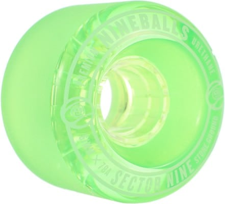 Sector 9 61mm Nineballs Longboard Wheels - green (78a) - view large