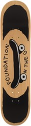 Foundation On The Go 7.75 Skateboard Deck - natural
