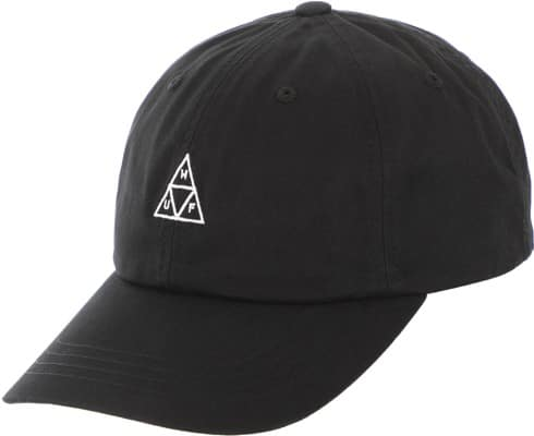 HUF Essentials Triple Triangle Strapback Hat - black - view large