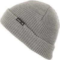 HUF Essentials Usual Beanie - grey heather