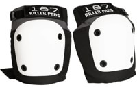 187 Killer Pads Fly Knee Pads - grey/white