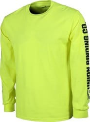 Union UBC L/S T-Shirt - safety green