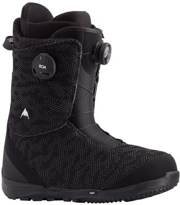 Burton Swath Boa Snowboard Boots 2021 - black - view large