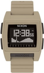 Nixon Base Tide Pro Watch - sand