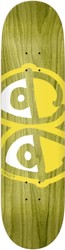 Krooked Team Eyes 8.06 Skateboard Deck - yellow