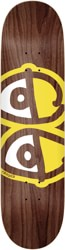 Krooked Team Eyes 8.38 Skateboard Deck - brown