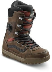 Vans Invado Pro Snowboard Boots 2021 - brown/red