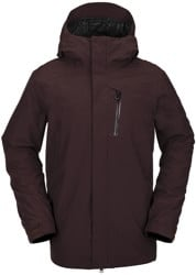 Volcom L Gore-Tex Jacket - black red