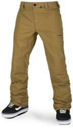 Volcom Klocker Tight Pants - burnt khaki