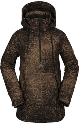 Volcom Fern Gore-Tex Pullover Insulated Jacket - leopard - view large