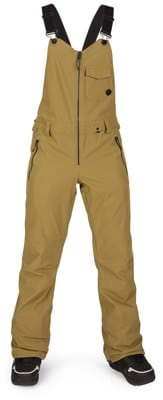 Volcom Swift Bib Overall Pants - burnt khaki - view large