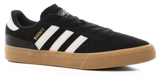 Adidas Busenitz Vulc II Skate Shoes - core black/footwear white/gum4 - view large