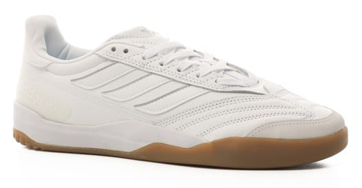 Adidas Copa Nationale Skate Shoes - footwear white/silver metallic/gum m2 - view large