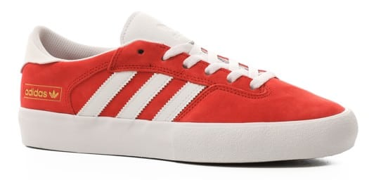 Adidas Matchbreak Super Skate Shoes - scarlet/footwear white/gold metallic - view large